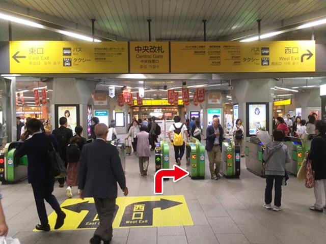 浦和駅よりお越しの方へ1