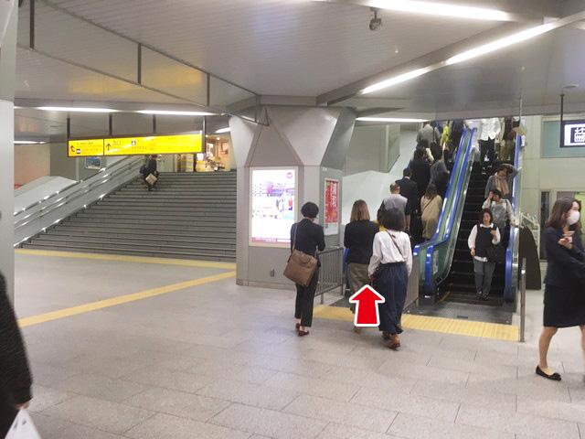 浦和駅よりお越しの方へ2