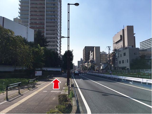浦和駅よりお越しの方へ9