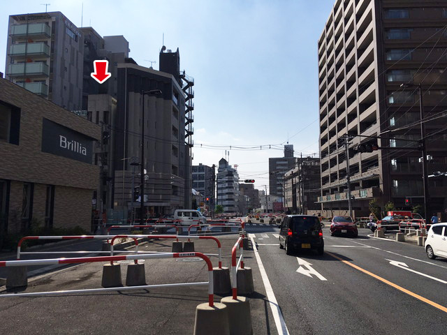 浦和駅よりお越しの方へ10